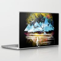 iceland Laptop & iPad Skins featuring iceland islands by frederic levy-hadida