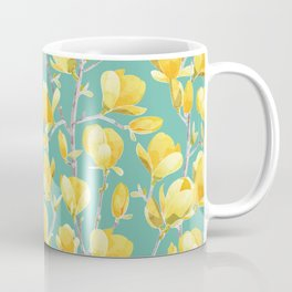 Yellow Magnolia Spring Bloom Coffee Mug