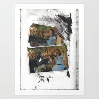 Blurred Existence Art Print