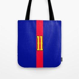 football team 1 number eleven Tote Bag