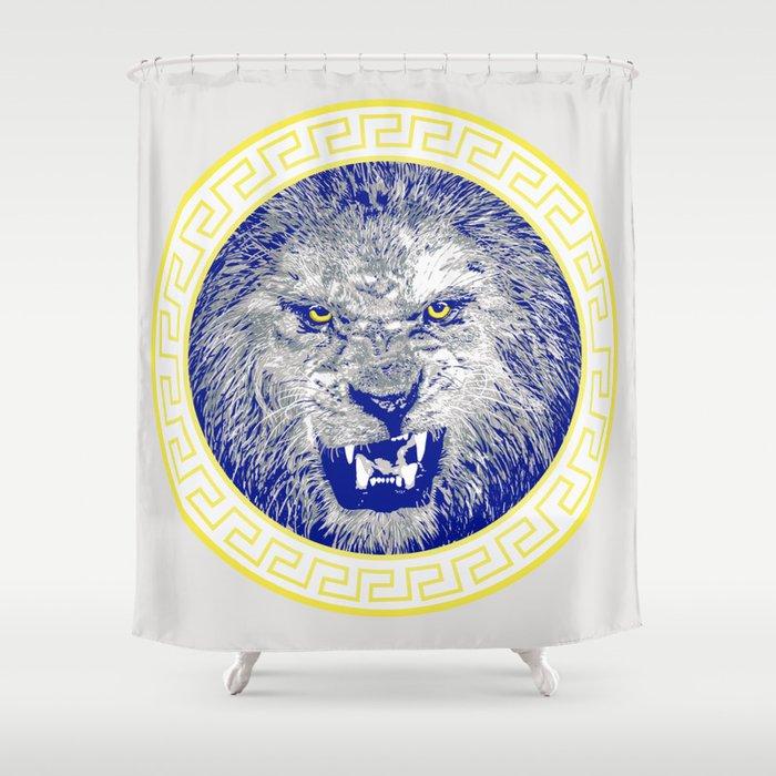Versace Lion Shower Curtain