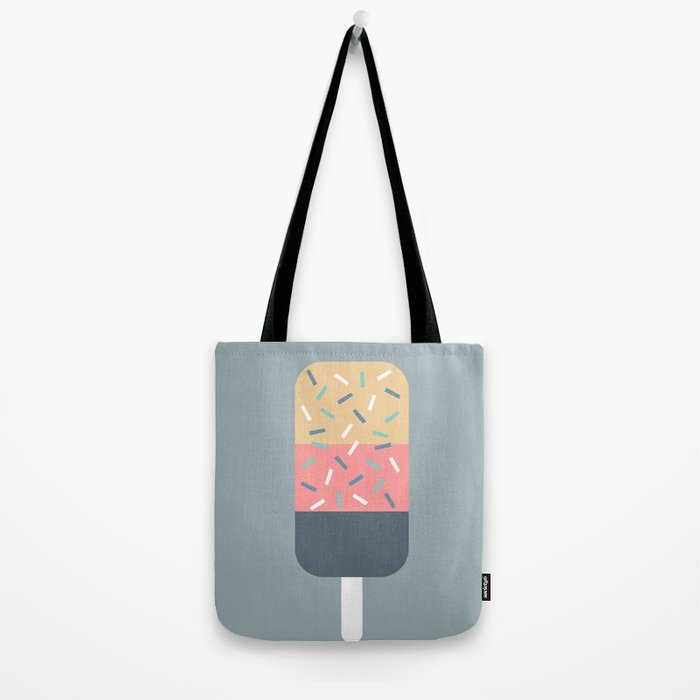 Popsicle (Blue) Tote Bag