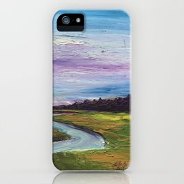 Morning on the Marsh iPhone Case