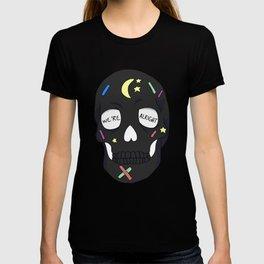 We're Alright Skull T-shirt