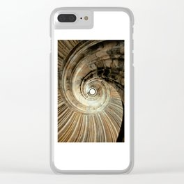 wendeltreppe Clear iPhone Case