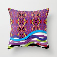 Pattern AM02 Colorful Throw Pillow