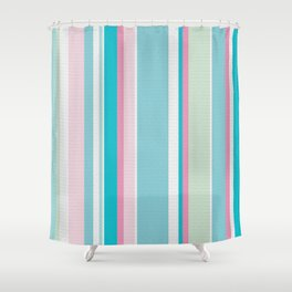 Earn Your Stripes Shower Curtain