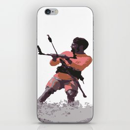 Board Out Of Your Mind Kitesurf Vector iPhone Skin