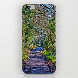 Mylor Walk - Broads Lane Trees iPhone Skin
