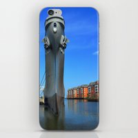 wisconsin iPhone & iPod Skins featuring Battleship Wisconsin by Raymond Earley