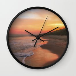 A Summers morning Wall Clock
