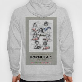 Formula 1 World-Champion from 1970 to 1979 Hoody