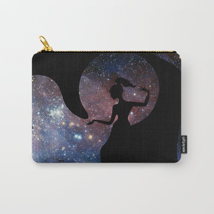Galaxy From Within Carry-All Pouch