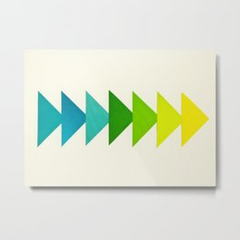 Arrows I Metal Print