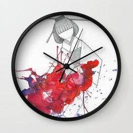 origami #2 Wall Clock