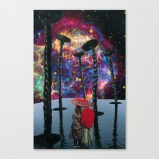 light from a dead star Canvas Print