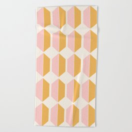 Zola Pattern - Golden Beach Towel