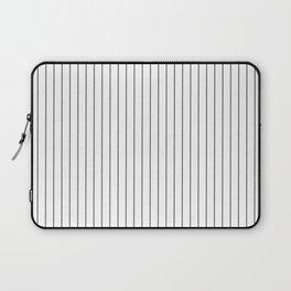 Grey stripes pattern Laptop Sleeve