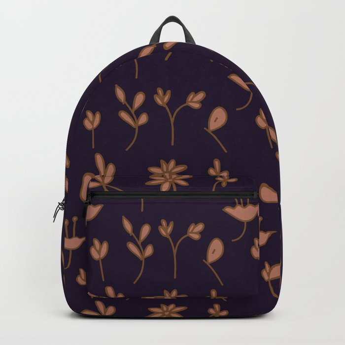 Hand Drawn Floral Elements Backpack