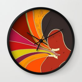 SOUND SPLASH Wall Clock