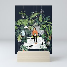 dark room print Mini Art Print