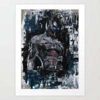 Arkham Knight Art Print