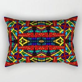 Glass Mosaic Rectangular Pillow