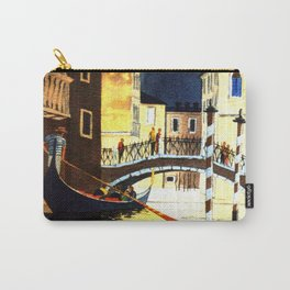 Evening In Venice Italy Carry-All Pouch