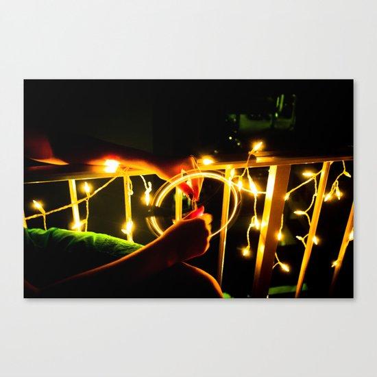 Light Wheel Canvas Print