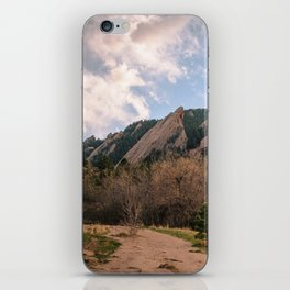 Flatirons Sunset iPhone Skin