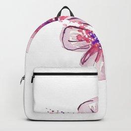 Little Lilac Flower Backpack