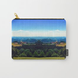 Panoramic view into a summertime scenery Carry-All Pouch