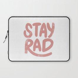 Stay Rad Vintage Pink Laptop Sleeve