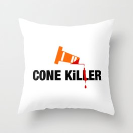 Cone Killer v2 HQvector Throw Pillow