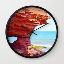 Scarlet Formation Wall Clock