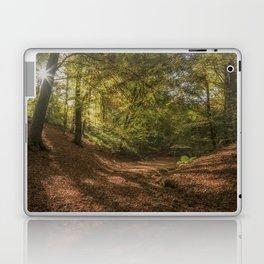 Autumn Woodland  Sunrise Laptop & iPad Skin