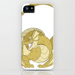 Gold Amphithere iPhone Case