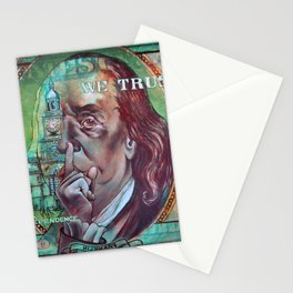 In Dependence We Trust Stationery Cards