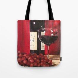Red Wine, Still Life Tote Bag