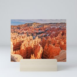 Sunset Point at Bryce Canyon Panorama Mini Art Print
