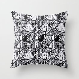 The Grid II Throw Pillow