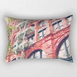 SoHo is Lovely this Time of Year Rectangular Pillow