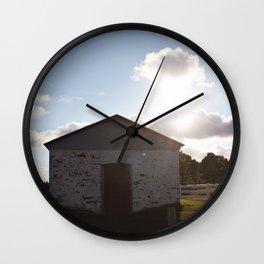 Battery Magazine Wall Clock