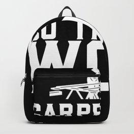 Zimmerer  Zimmermann Design für einen Zimmerer  Backpack