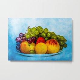 Summer fruits Metal Print