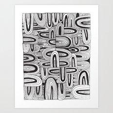 REPEATER Art Print