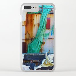 Destroyed Clear iPhone Case
