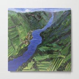 Moselle River Metal Print