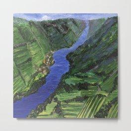 Moselle River Metal Print