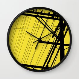 SP wires 3 Wall Clock